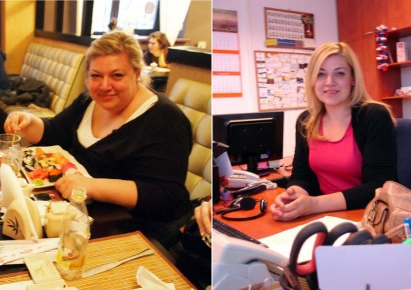 Како изгубив 70 килограми за една година